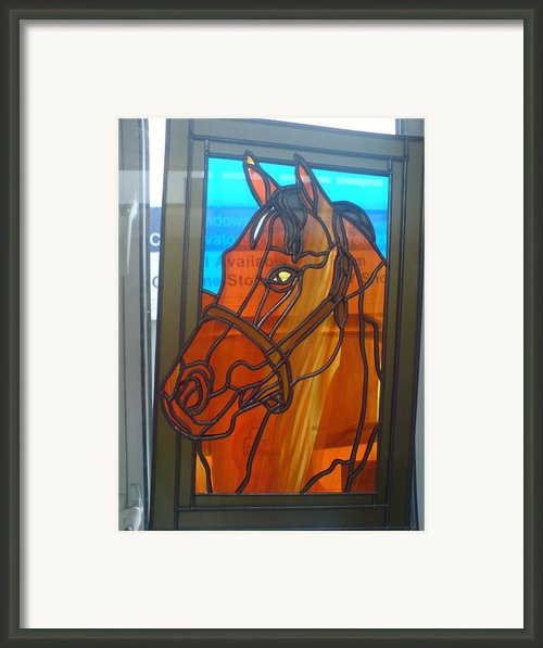Red Rum Framed Print By Robin Jeffcoate