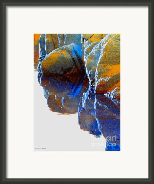 Reflected Framed Print By Robert Hooper