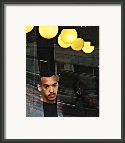 Reflecting On Luke Framed Print By Sarah Loft