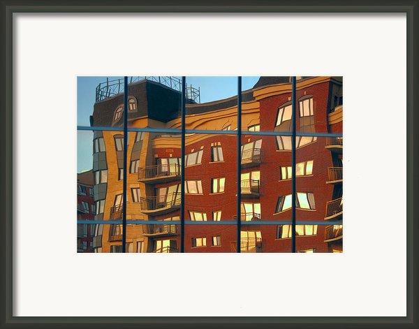 Reflection Le Selection Framed Print By Elisabeth Van Eyken