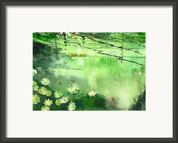 Reflections 1 Framed Print By Anil Nene