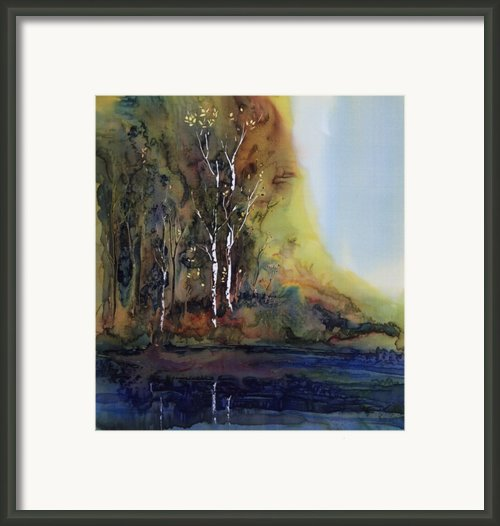 Reflections Framed Print By Carolyn Doe