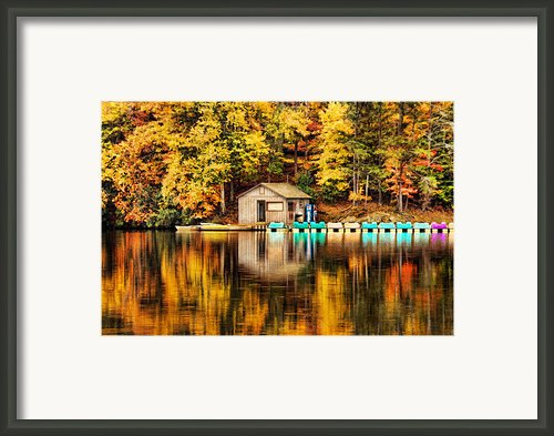 Reflections Framed Print By Darren Fisher