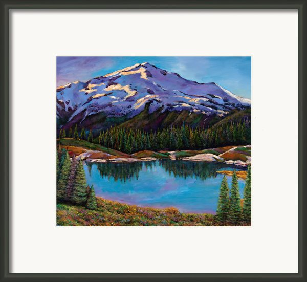 Reflections Framed Print By Johnathan Harris
