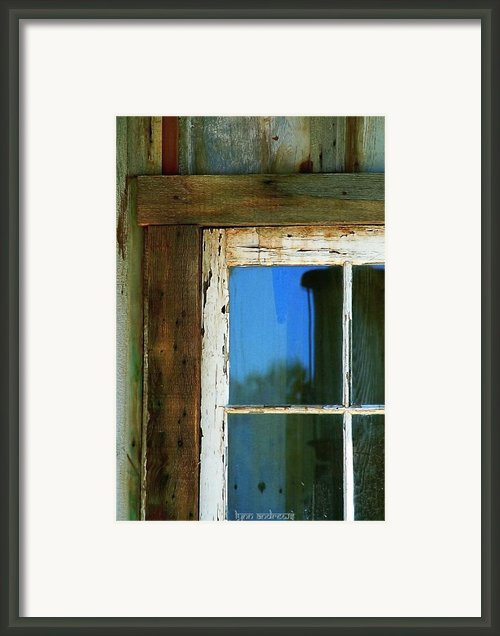 Reflections Framed Print By Lynn Andrews