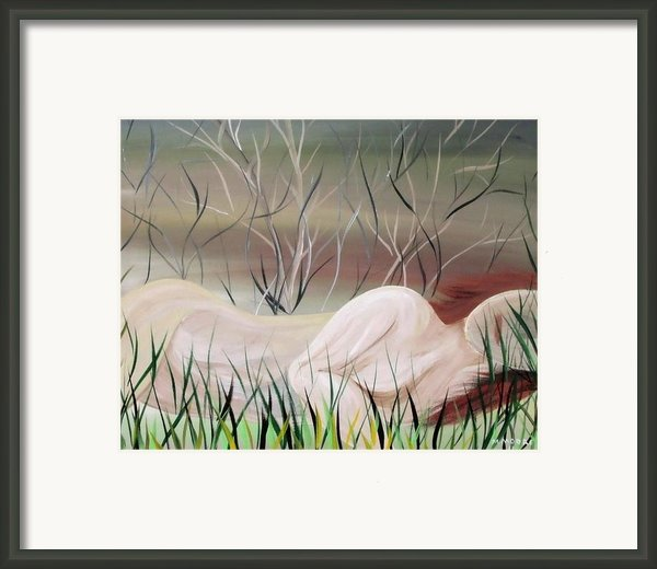 Reflections Framed Print By Mark Moore