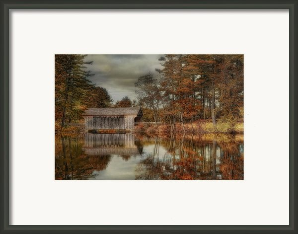 Reflections Of Autumn Framed Print By Robin-lee Vieira