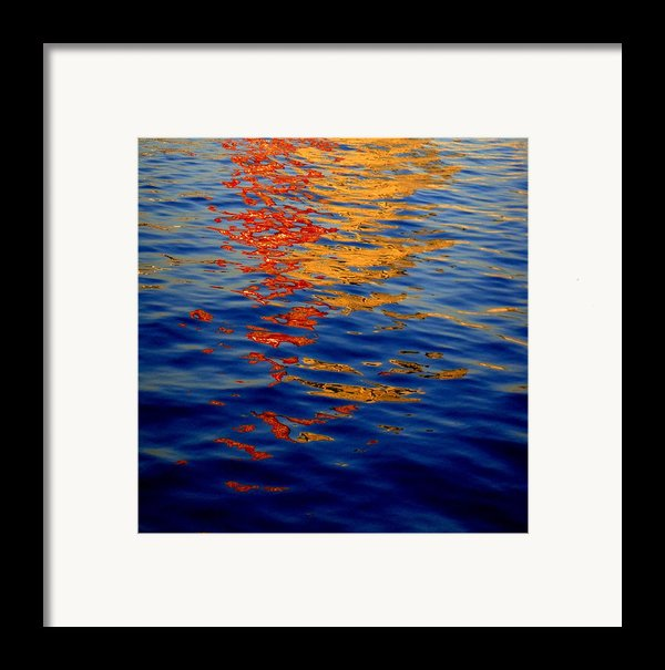 Reflections On Kobe Framed Print By Roberto Alamino