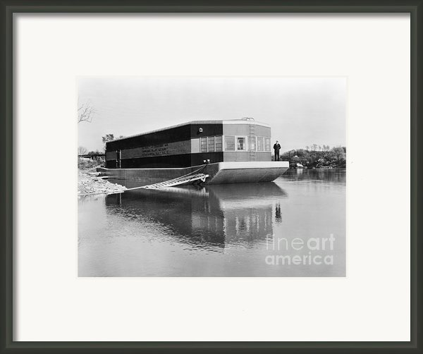 Refrigerated Barge, C1935 Framed Print By Granger