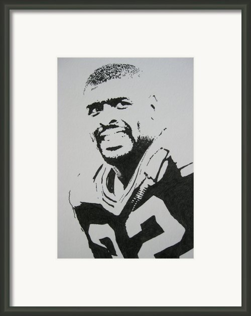 Reggie Framed Print By Lynet Mcdonald