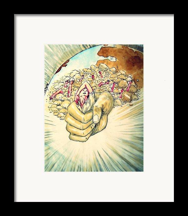 Relentless Law Of Return Framed Print By Paulo Zerbato