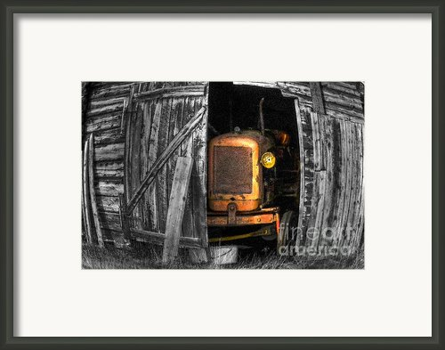 Relic From Past Times Framed Print By Heiko Koehrer-wagner