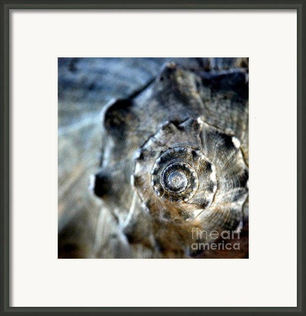 Remember The Sea With Me Framed Print By Karen Wiles