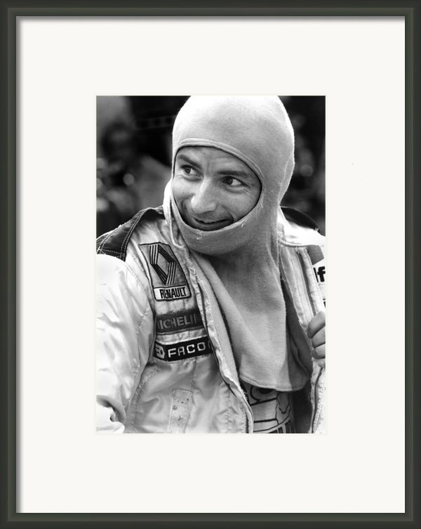 Rene Arnoux Framed Print By Mike Flynn