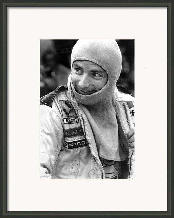 Rene Arnoux Framed Print By Mike Flynn