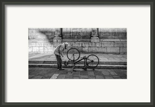 Repairs Framed Print By Michael Avory