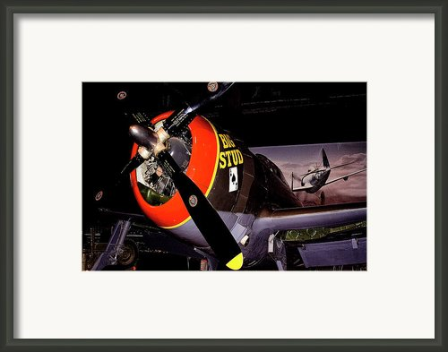 Republic P-47d Thunderbolt Framed Print By David Patterson