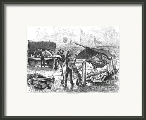 Republican Barbecue, 1876 Framed Print By Granger