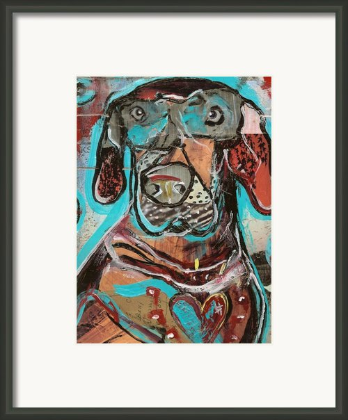 Rescued Heart Framed Print By Robert Wolverton Jr