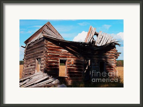 Reshaped By Nature Framed Print By Terril Heilman