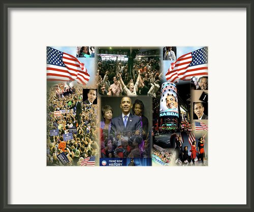Respectfully Yours..... Mr. President 2 Framed Print By Terry Wallace