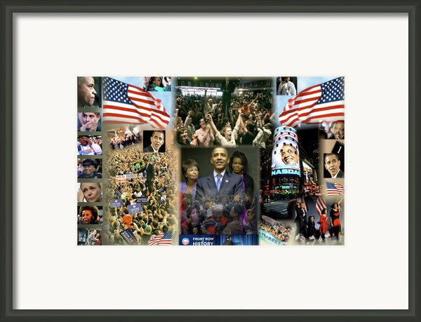 Respectfully Yours..... Mr. President Framed Print By Terry Wallace