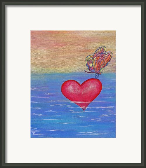Rest Your Wings Framed Print By Samantha Lockwood