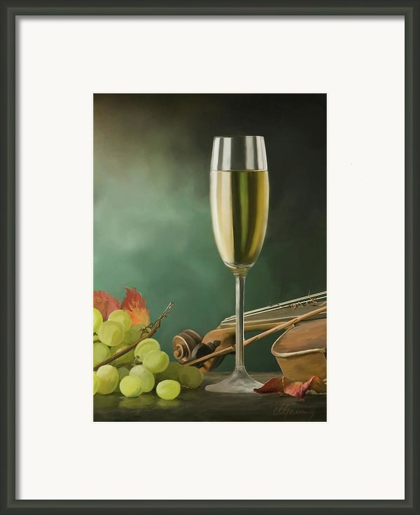 Restaurant Menu Paintings Framed Print By Michael Greenaway