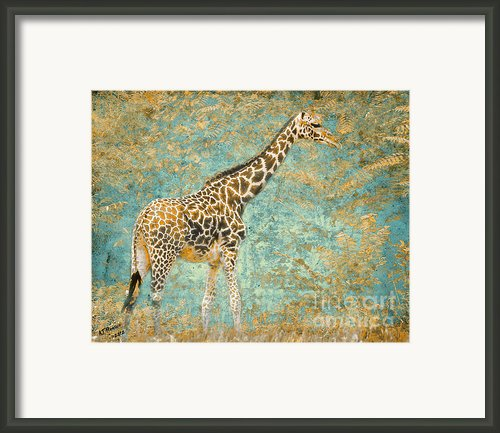 Reticulated Framed Print By Arne Hansen