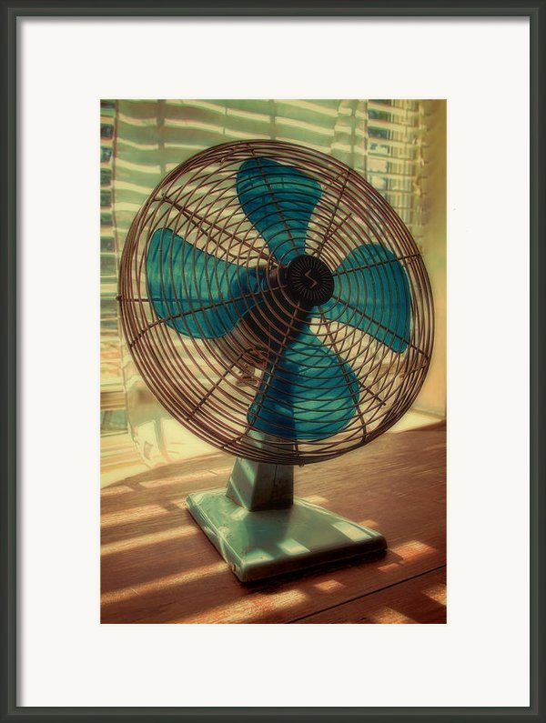 Retro Fan Framed Print By Tony Grider
