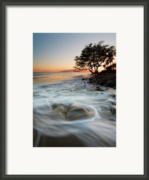 Return To The Sea Framed Print By Mike  Dawson