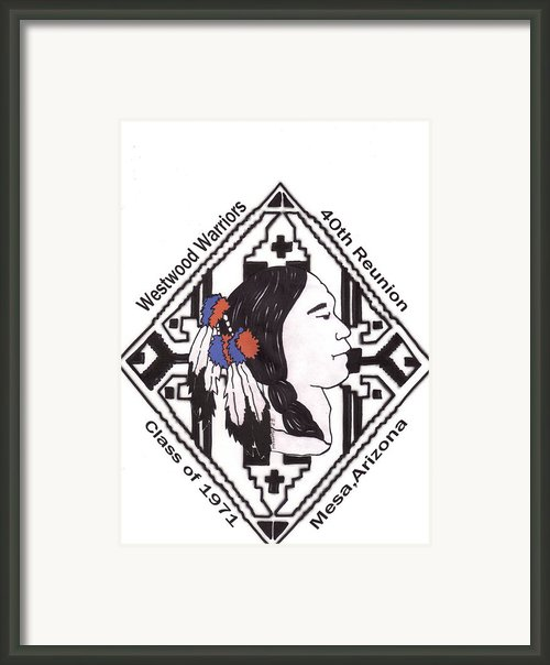 Reunion Art-class Of 1971 Framed Print By  Gayle  Hartman