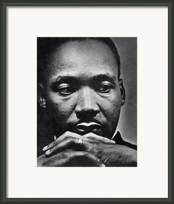 Rev. Martin Luther King Jr. 1929-1968 Framed Print By Everett