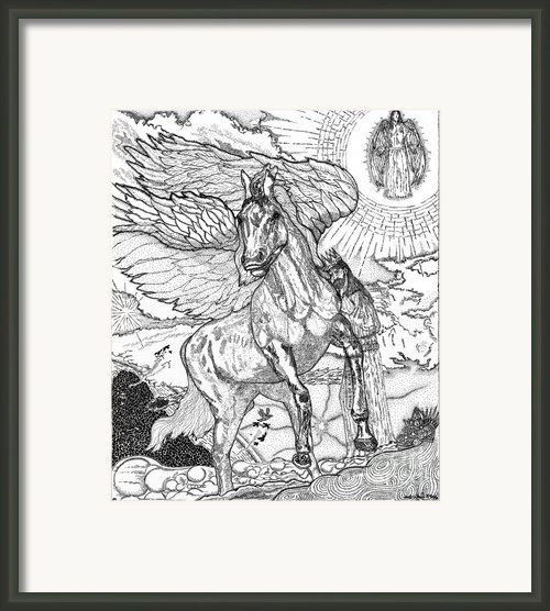 Revelation   Return Of The King Framed Print By Glenn Mccarthy Art And Photography