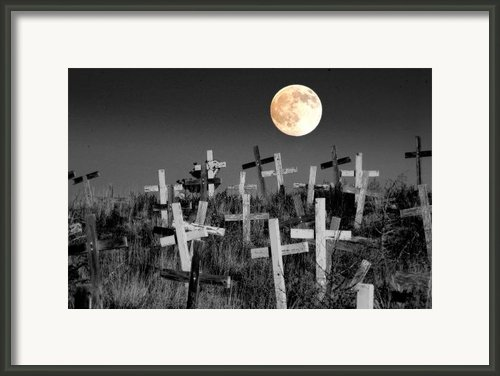 Reverent Moonlight.... Framed Print By Al  Swasey