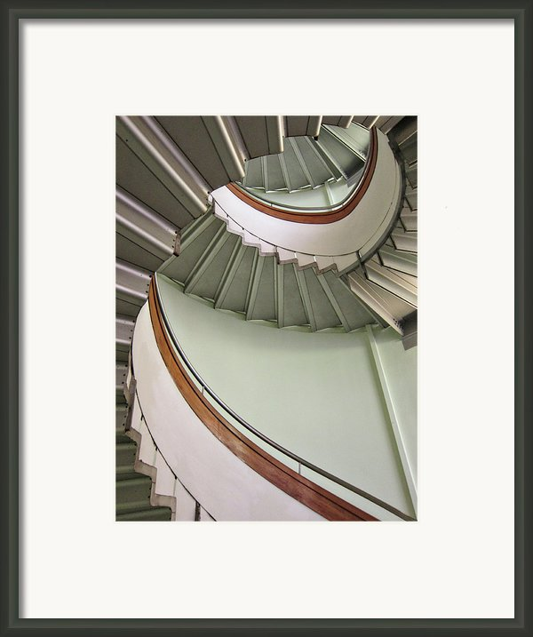 Revolving Stairs Framed Print By Photo By Dasar