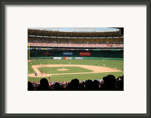 Rfk Stadium Framed Print By Lance Freeman