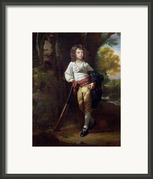 Richard Heber Framed Print By John Singleton Copley
