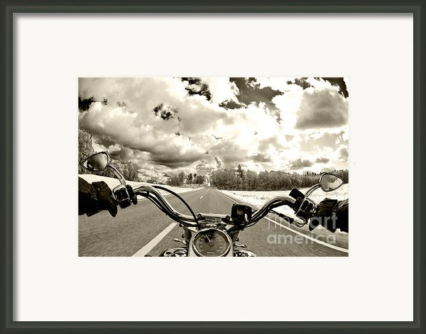 Ride Free Framed Print By Micah May