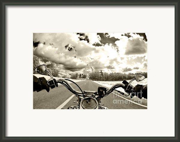 Ride Free Framed Print By Micah May