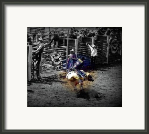 Ride The Thunder Framed Print By Amanda Eberly-kudamik