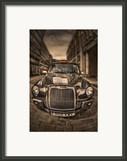 Ride With Me Framed Print By Evelina Kremsdorf