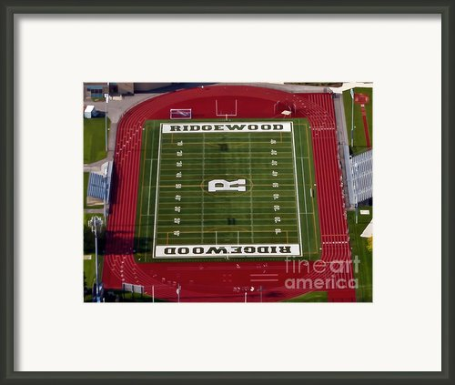 Ridgewood Field In Chicago Framed Print By Angela Pari  Dominic Chumroo