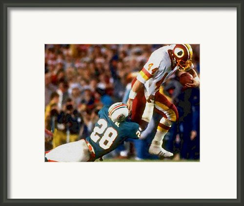 Riggos Run Framed Print By Paul Van Scott