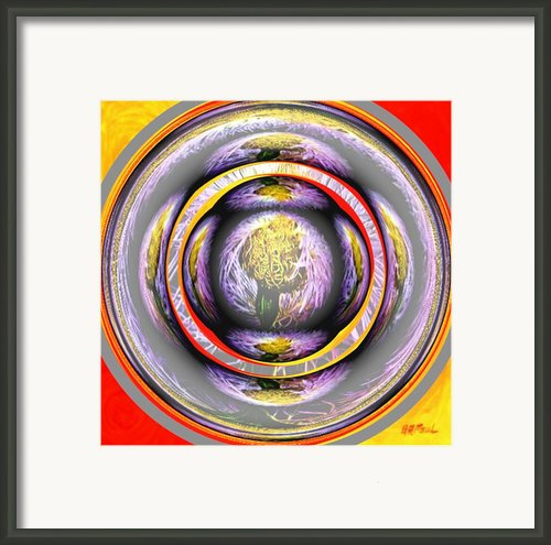 Ring Of Fire Framed Print By Buddy Paul