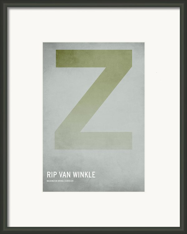 Rip Van Winkle Framed Print By Christian Jackson