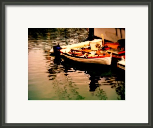 Ripples And Reflections Framed Print By Kevin Moore