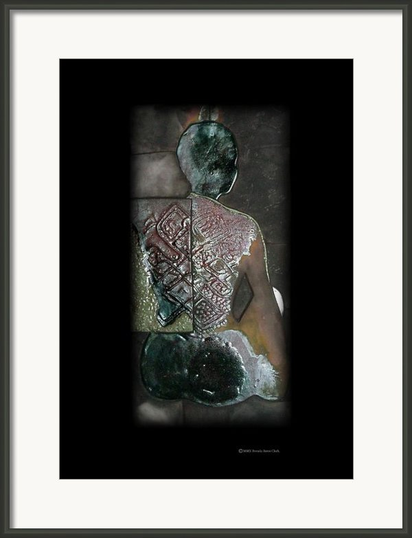 Ritual Transformation Framed Print By Bates Clark