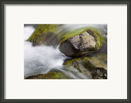 River Rocks Ii Framed Print By Jenna Szerlag