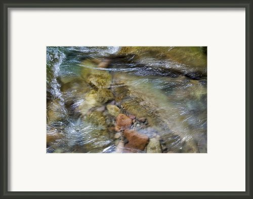 River Rocks Framed Print By Jenna Szerlag